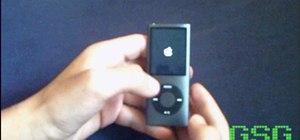 Unfreeze an iPod Nano or Classic