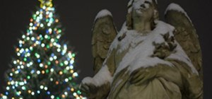Angel on Christmas