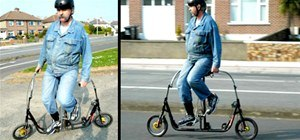 Circus Freak Sideways Bicycle