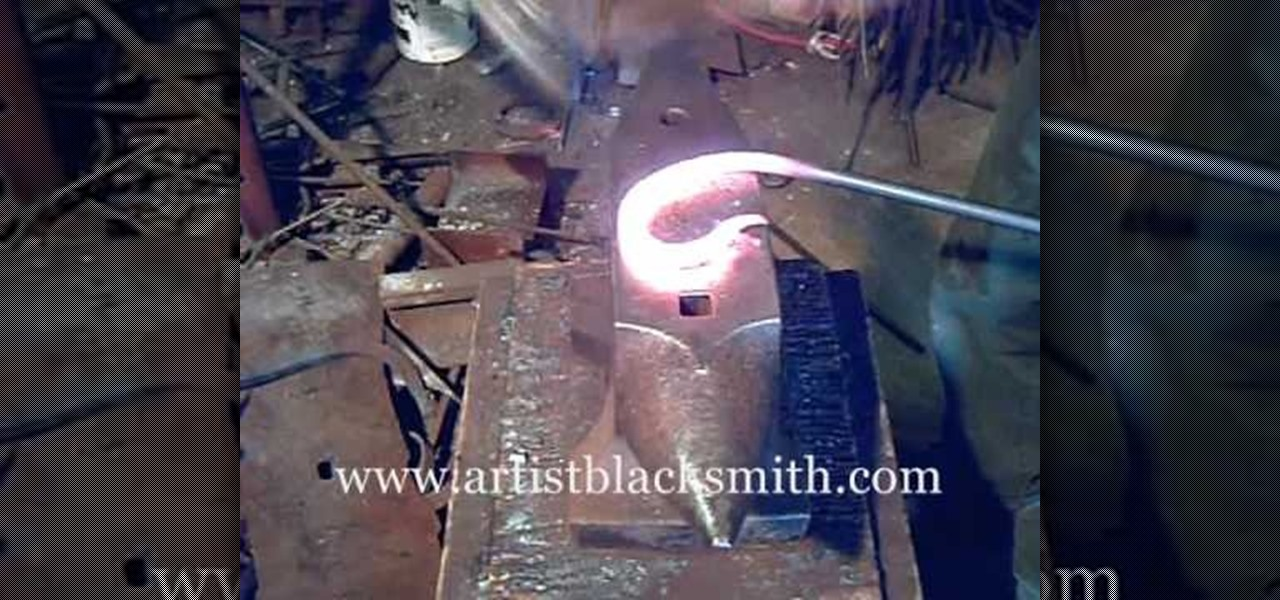 How To Blacksmith Decorative Steel Scrolls 171 Metalworking