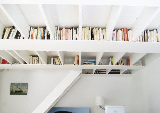 Do-It-Yourself: Bookshelf Rafters