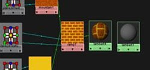 Create a Simple Procedural Brick Texture in Maya