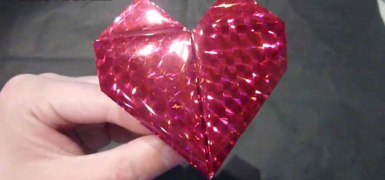 How To Make A Romantic Origami Beating Heart Origami Wonderhowto