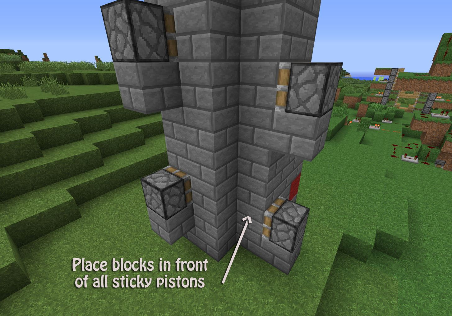 . The Fastest Way to the Top  How to Build a Redstone Elevator in