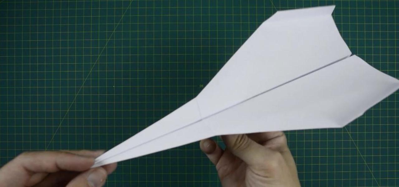 Order a paper plane that flies far