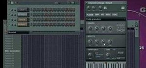 Use the Fruity granulizer in FL Studio