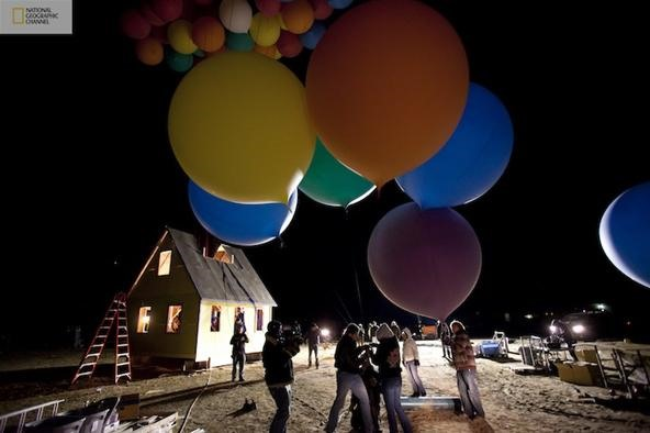 DIY of The Decade: Pixar's UP House Comes to Life