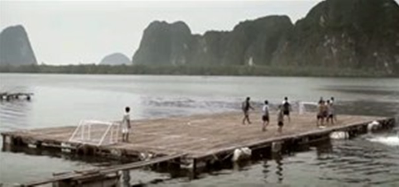 Inspiring Diy Of The Day Building A Floating Soccer Field Wonderhowto