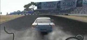Drift in Need For Speed Pro Street