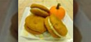 Make pumpkin whoopie pies