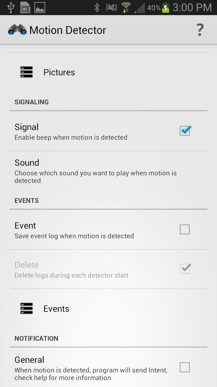 Turn Your Galaxy Note 2 into a Secretive Photo-Capturing Motion Detector