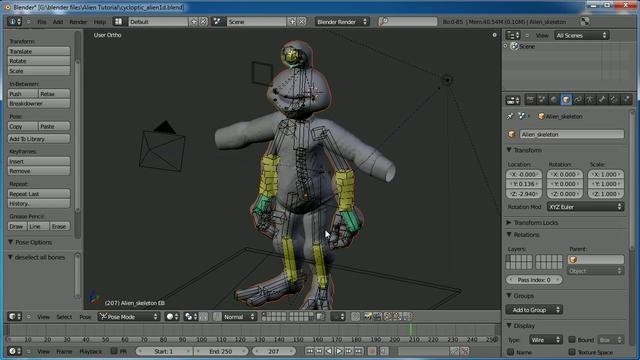 Prevent meshes from intersecting within Blender 2.5