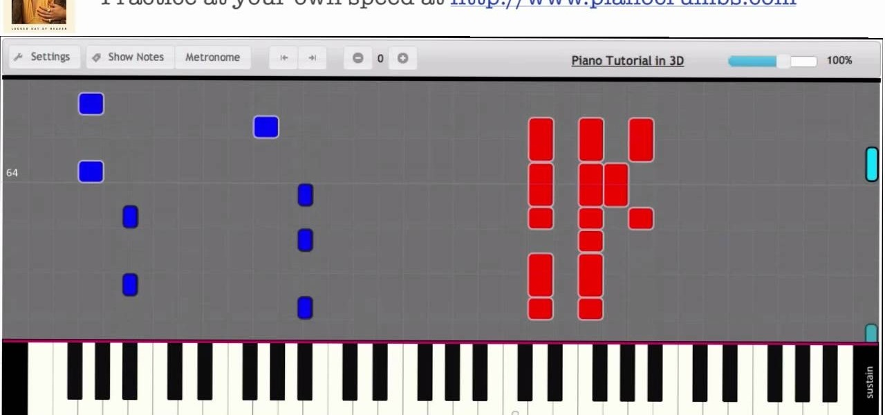 "Play ""Locked Out of Heaven"" (Unorthodox Jukebox Album) by Bruno Mars on Piano - Interactive Piano Tutorial"