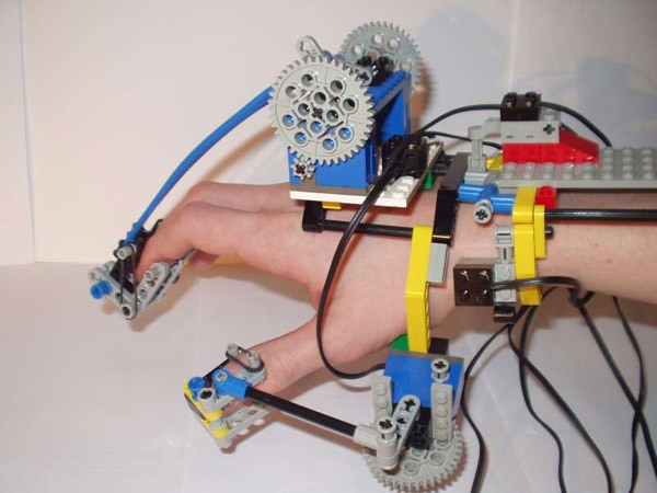 Hand Creates Robotic Action