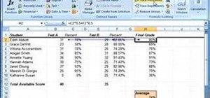Trace formulas in Excel 2007