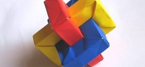 Origami a rectangle sculpture