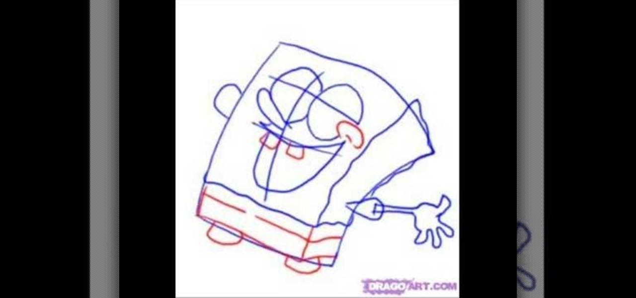 Spongebob Squarepants Drawings Step By Step How to Draw Spo...