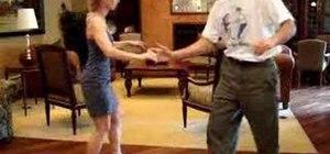 Dance lindy hop Lolly Kick moves
