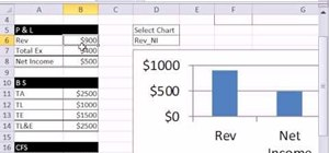 Run a chart lookup with defined names in MS Excel
