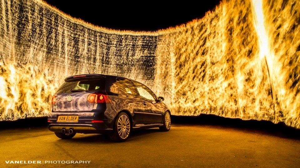 Light Painting with Fire: How to Capture the Perfect, Most Badass Wall of Flames Photo