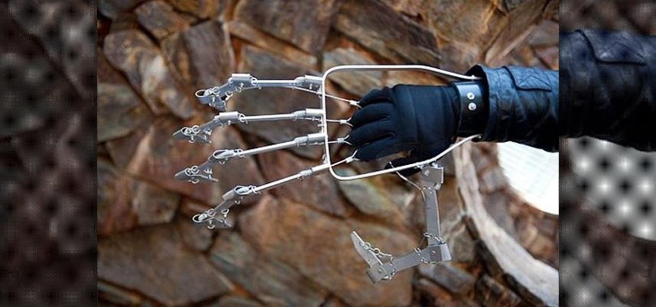 Большая механическая рука своими руками