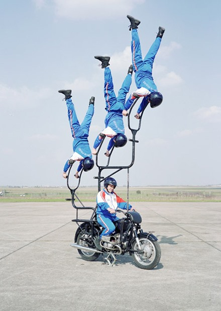 Acrobatic Cops Should Ditch the Force, Join the Circus