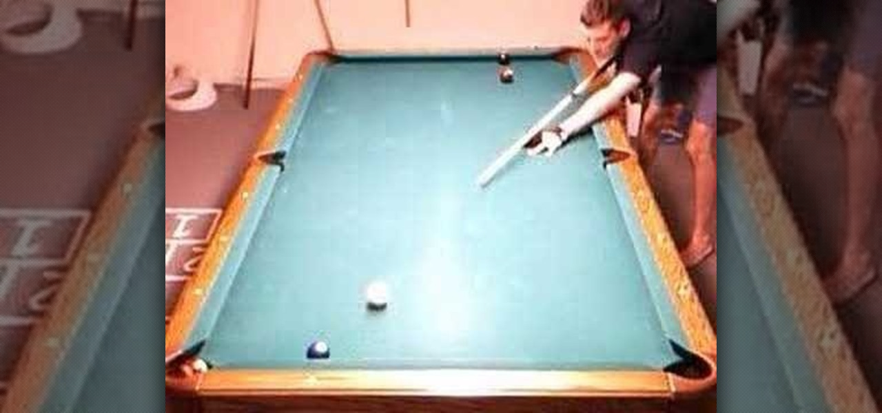How to Practice a drill to improve cue ball control in pool