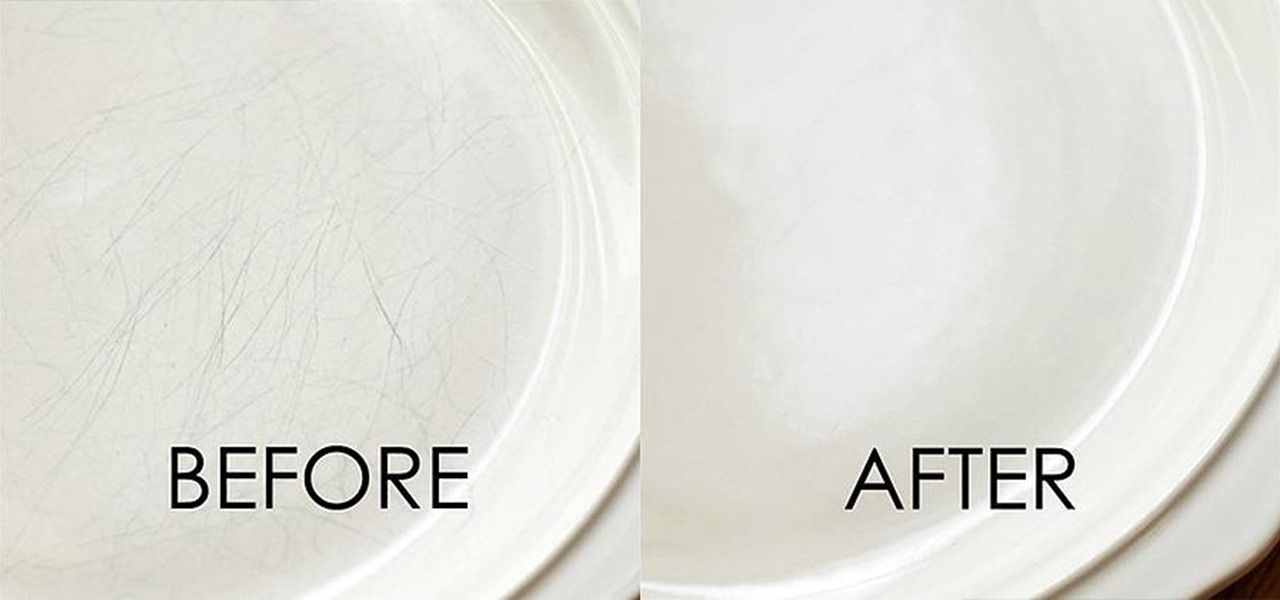 The Secret To Cleaning Scuff Marks Off Dishes Amp Silverware