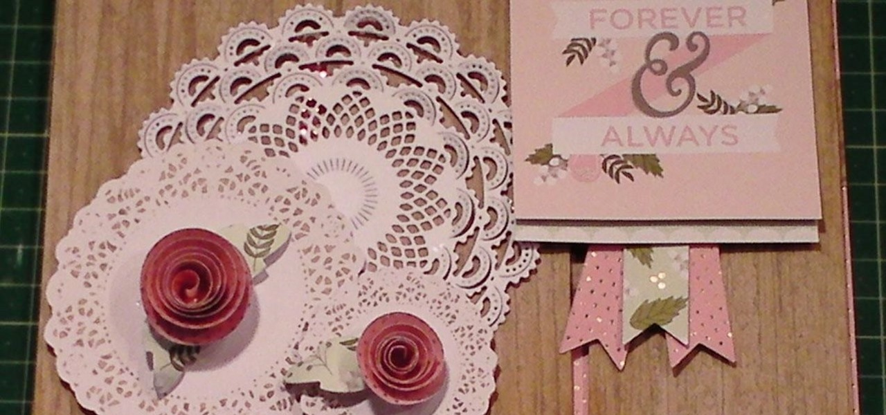 Make a Happy Day Vintage Doily Card
