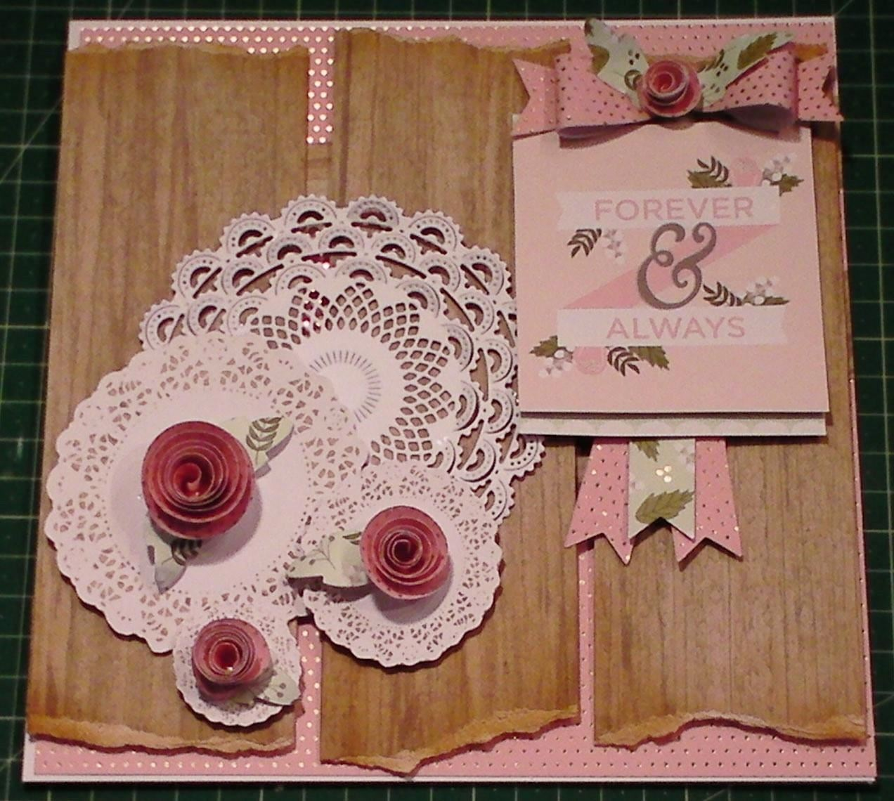 How to Make a Happy Day Vintage Doily Card