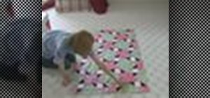 Measure borders when quilting