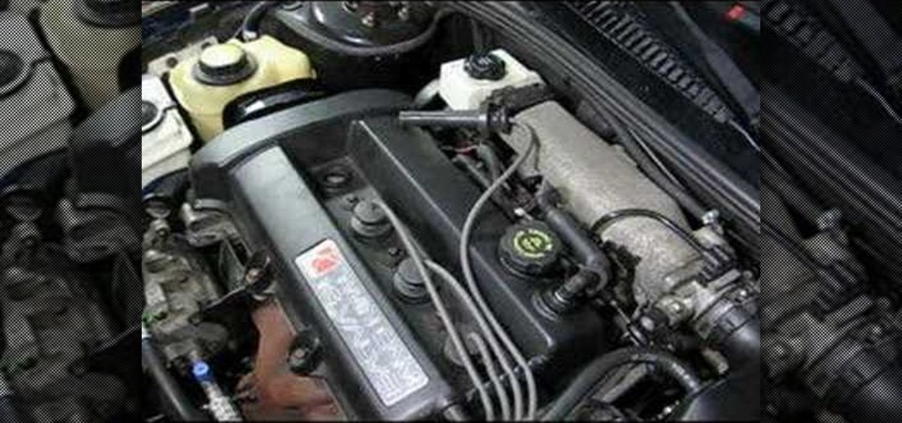 How to Replace the spark plugs in a Saturn S-Series car « Auto