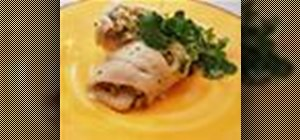 Make a delicious baked stuffed flounder dish