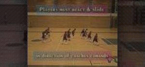Practice defense slide basketball drills