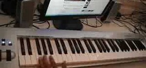 """Play """"Allure"""" by Jay-Z on piano"""
