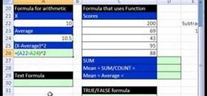 Make calculations in Excel with formulas & references