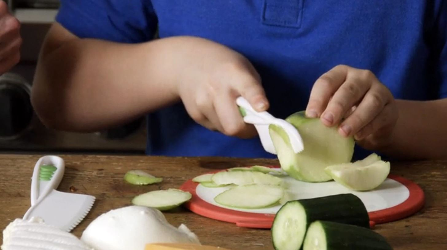 Inspire Your Kids to Cook with a Safe Mini Knife Set