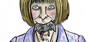 "Anna ""Devil"" Wintour Smeared With Ink and Wit"