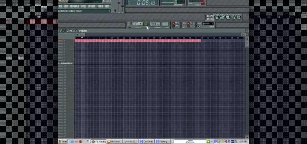 How to Compose a drum beat or loop in FL Studio « FL Studio