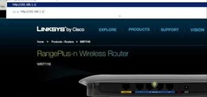Set up and configure a Linksys wireless router