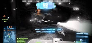 Use a Battle Tank vehicle in Battlefield 3