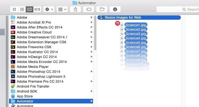how to make new floder on a drive mac