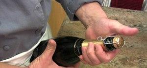 Open a champagne bottle like a pro