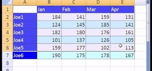 Summarize data in Excel with the consolidation feature