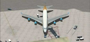 Pick up airport passengers in Microsoft FSX