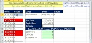 Use advanced conditional formatting in Microsoft Excel
