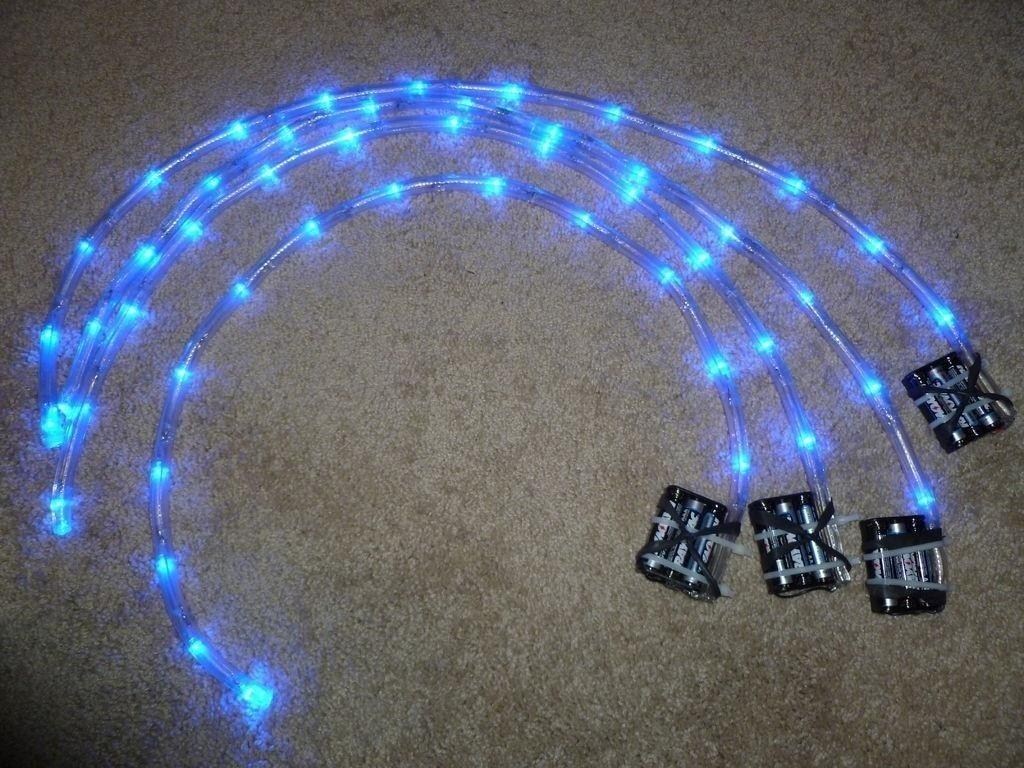 Illuminate Your Bike at Night with These Super Bright DIY Rim Lights