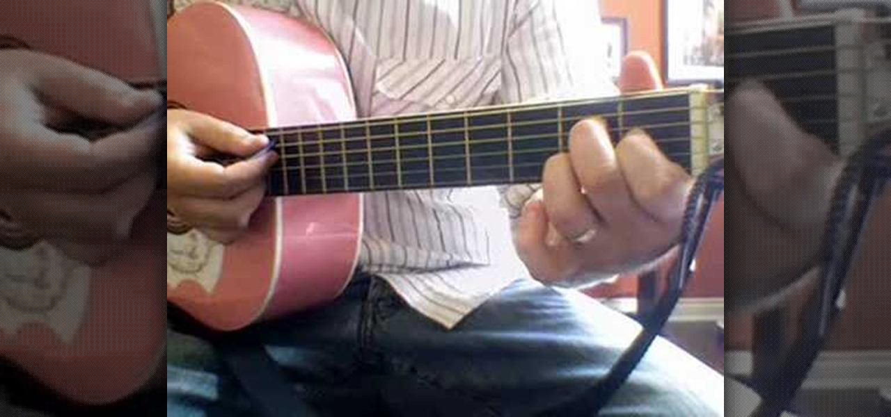 How To Play Bubbly By Colbie Caillat On The Acoustic Guitar