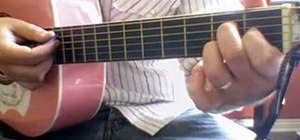 """Play """"Bubbly"""" by Colbie Caillat on the acoustic guitar"""