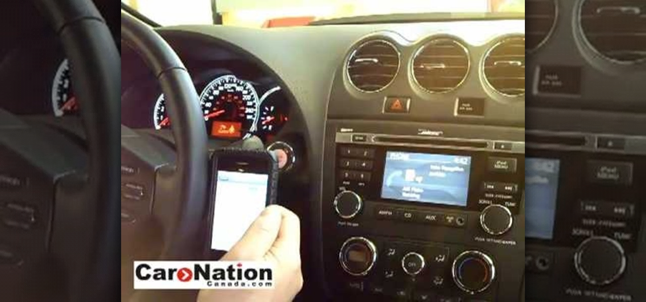 How To Pair Your Phone Using Bluetooth In 2010 Nissan Altima Car Mods Wonderhowto